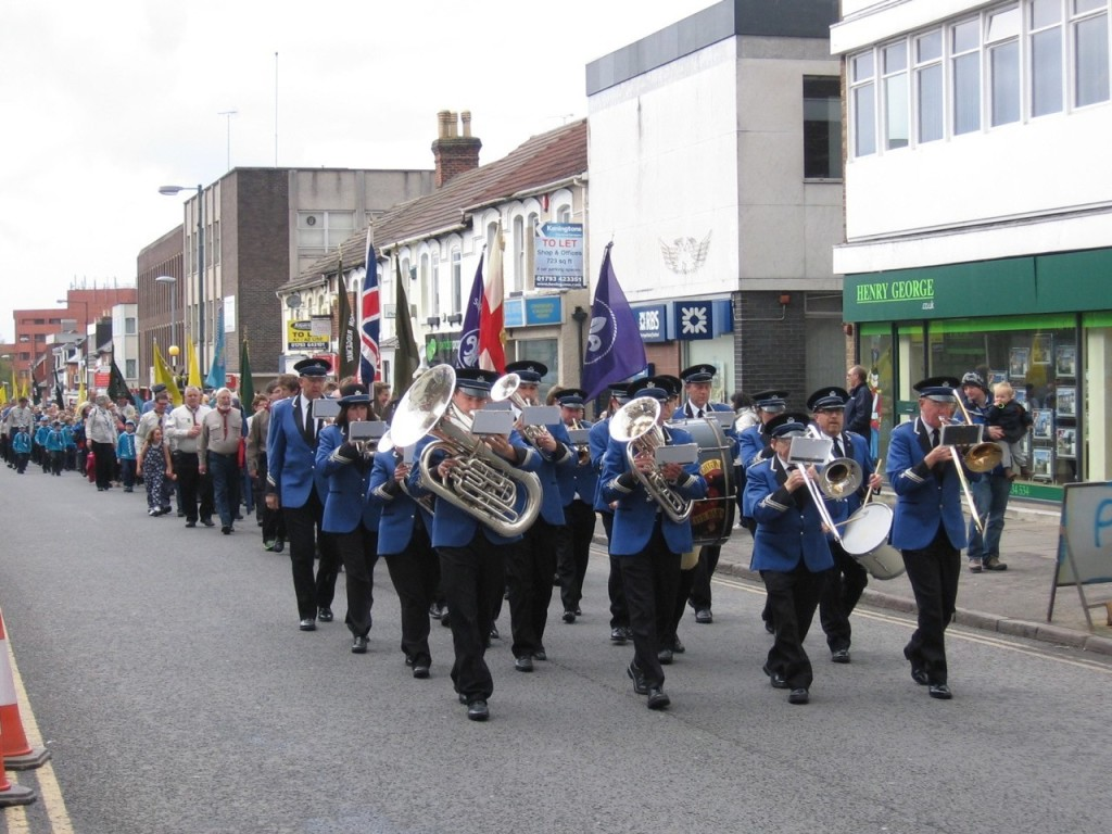 St George's Day Parade 2015